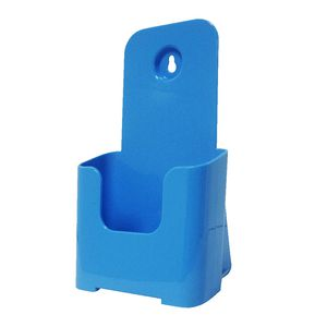 deflect-O DL Brochure Holder Blue