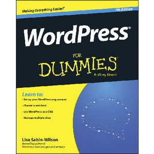 WordPress For Dummies Book