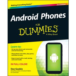 Android Phones For Dummies Book