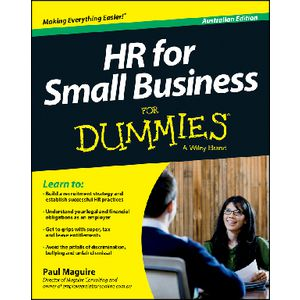 HR for Small Business For Dummies Book Australian Edition