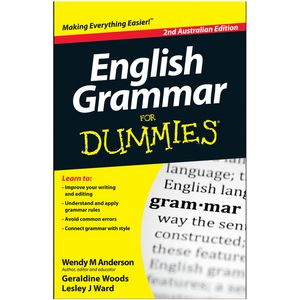 English Grammar For Dummies Book