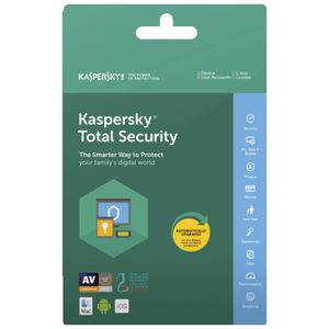 Kaspersky Total Security 1 Device 12 Months Card