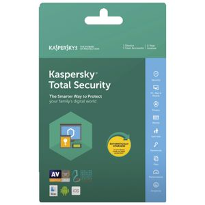 Kaspersky Total Security 1 Device 2 Year Card