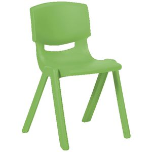 Studymate Young Stacking Chair 390mm Green