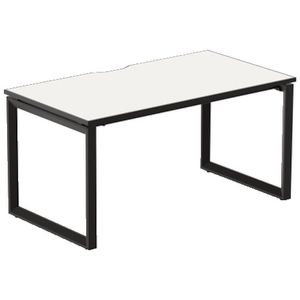 Stilford Professional Desk 1500mm Black/White/Black