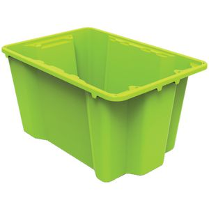 Keji 40L Storage Crate Green