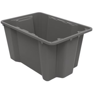 Keji 40L Storage Crate Grey