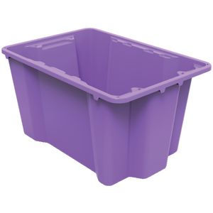 Keji 40L Storage Crate Purple