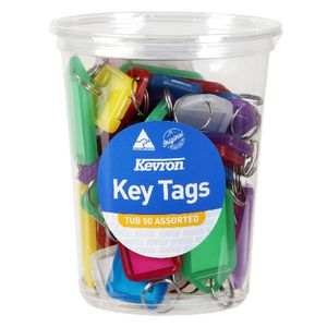 Kevron ID5 Key Tags 50 Pack