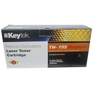 Keytek Brother TN-155 Toner Cartridge Magenta