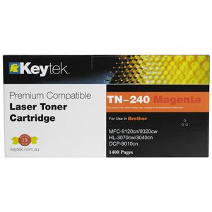 Keytek Compatible Brother TN-240 Toner Cartridge Magenta
