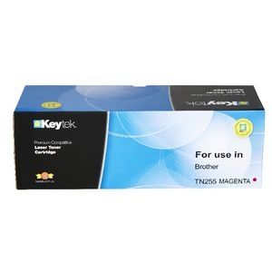 Keytek Brother TN255 Toner Cartridge Magenta