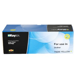 Keytek Alternate Brother TN255 Toner Cartridge Yellow