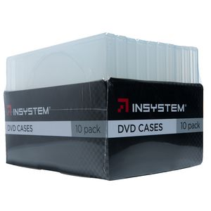 InSystem DVD Clear 10 Pack