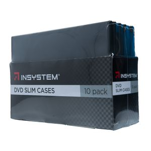 InSystem DVD Slim Black 10 Pack