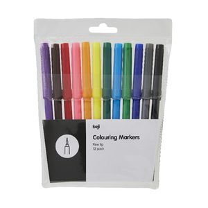 Keji Colouring Pens 12 Pack