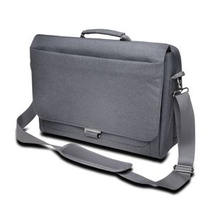 "Kensington LM340 Messenger Bag 15.6"" Grey"