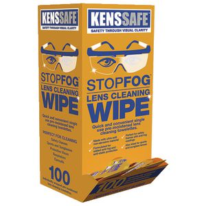 Optica Safety Glasses Lens Wipes 100 Pack