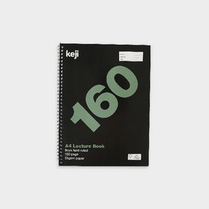 Keji A4 Spiral Lecture Book 160 Page