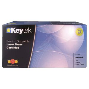 Keytek Alternate Lexmark T654 Toner Cartridge Black