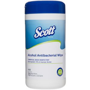 Milton Antibacterial Surface Wipes Canister of 100