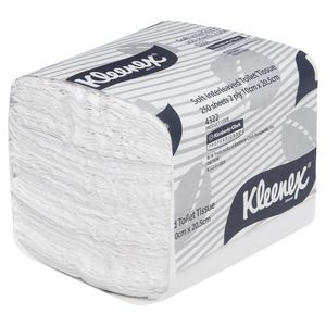 Kleenex Executive Soft Interleaved Toilet Paper 250 Sheet