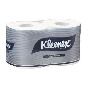 Kleenex 2 Ply Executive Toilet Paper Roll 250 Sheet 2 Pack