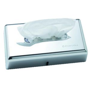 Kimberly-Clark Chrome Facial Tissue Dispenser