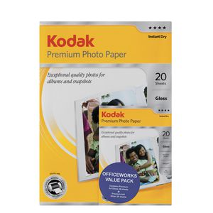 Kodak Premium Photo Paper Value Pack