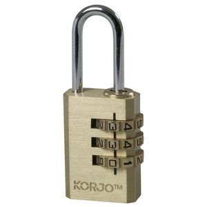 Korjo Travel Combilock Combination Padlock