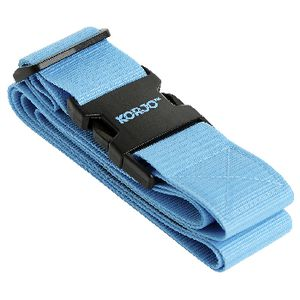Korjo Travel Adjustable Luggage Strap Assorted Colours