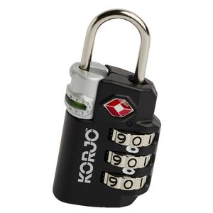 Korjo Travel TSA Luggage Lock with Indicator