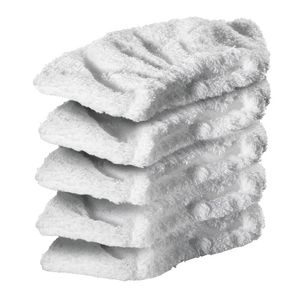 Karcher Steam Accessories Hand Nozzle Terry Cloth 5 Pack