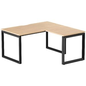 Stilford Professional Workstation 1500mm Black/Oak