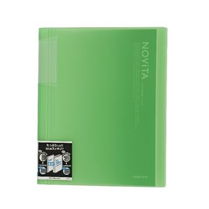 Kokuyo Display Book A4 NOViTA 40 Pocket Light Green