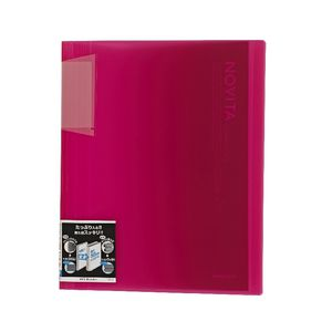 Kokuyo Display Book A4 NOViTA 40 Pocket Pink