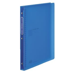 Kokuyo Color Tag Display Book A4 30 Pocket Refillable Blue