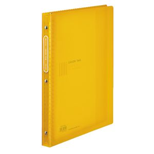 Kokuyo Color Tag Display Book A4 30 Pocket Refillable Yellow