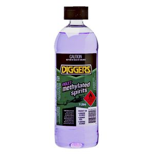 Diggers Methylated Spirits Violet 1L