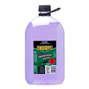 Diggers Methylated Spirits Violet 4L