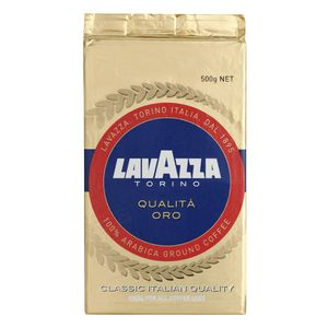 Lavazza Torino Qualita Oro Ground Coffee 500g