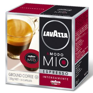 Lavazza A Modo Mio Intensamente Coffee Pod 16 Pack