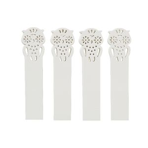 Little B Decorative Tabs Owl 4 pack