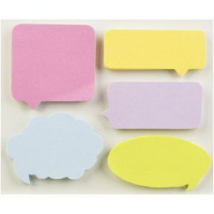 Little B Decorative Tabs, Captions 5 Pack