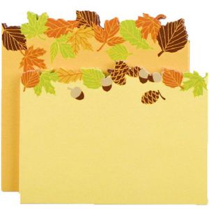 Little B Decorative Note Pad Fall 2 Pack