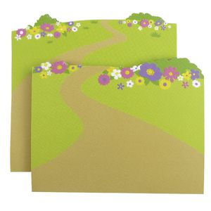 Little B Decorative Note Pad Wild Flowers 2 Pack