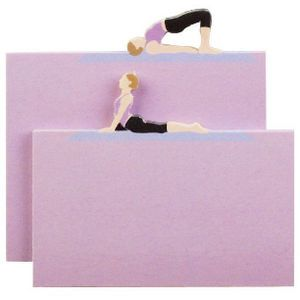 Little B Decorative Note Pad Yoga 2 Pack