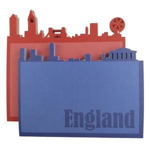 Little B Decorative Note Pad England 2 Pack
