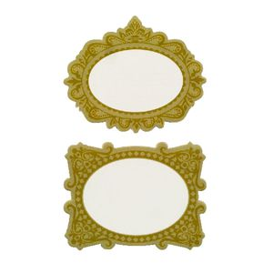 Little B Style Labels Ornate Gold 60 Pack