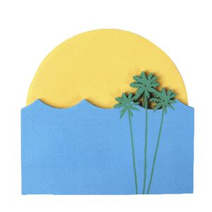 Little B Decorative Notes Sunset Beach 2 Pack